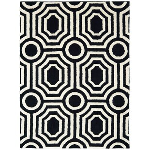 Searching for Alhambra Black/White Area Rug By Mercer41