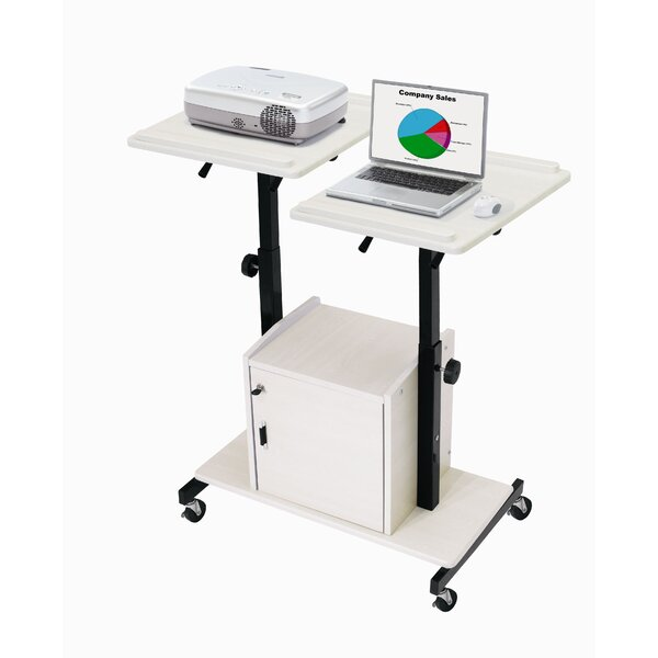 Deluxe AV Cart by Oklahoma Sound