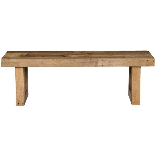 Abbey Wood Bench by Mistana Mistana