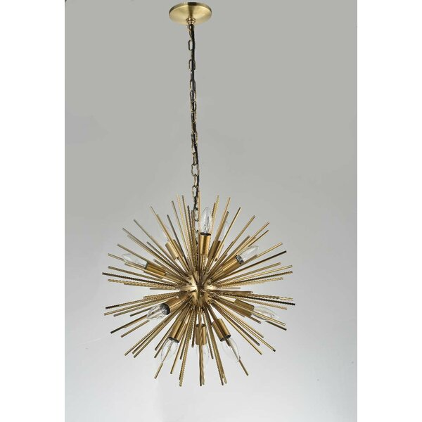 Durgin  LED  Chandelier by Corrigan Studio