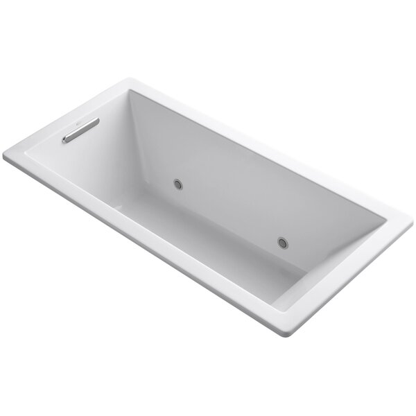 Underscore Vibracoustic 66 x 32 Whirpool Bathtub by Kohler