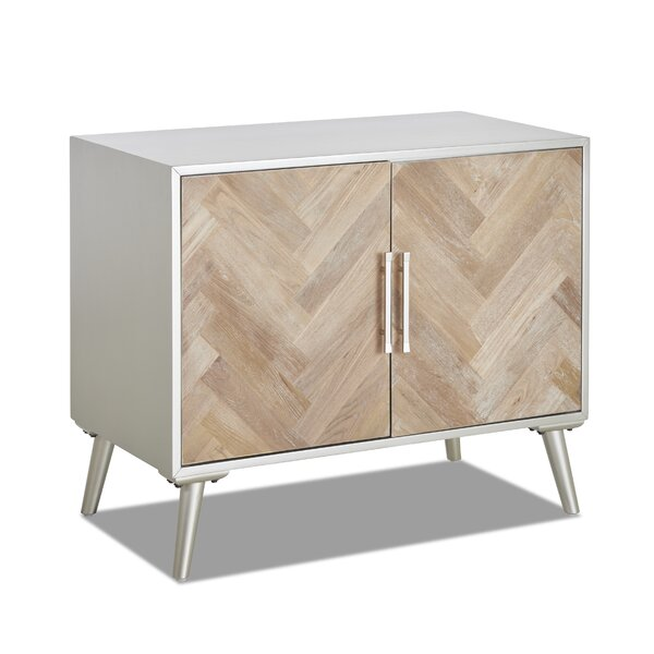 Hughesdale 2 Door Accent Cabinet By Everly Quinn