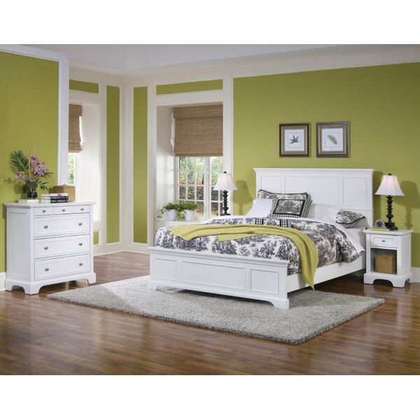 Thome King Standard 3 Piece Bedroom Set by Charlton Home