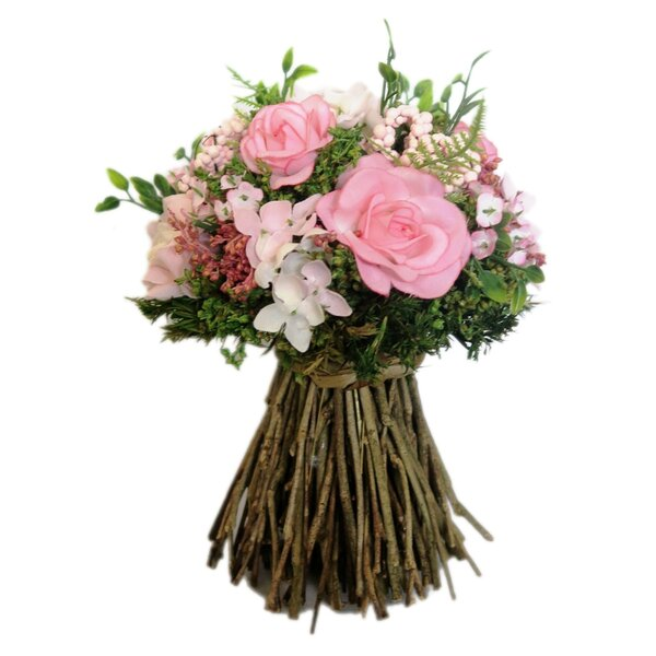 Mix Rose Twig Bouquet Floral Arrangement by Red Vanilla