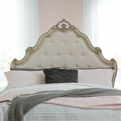 Avila Panel Upholstered Headboard by Lark Manor