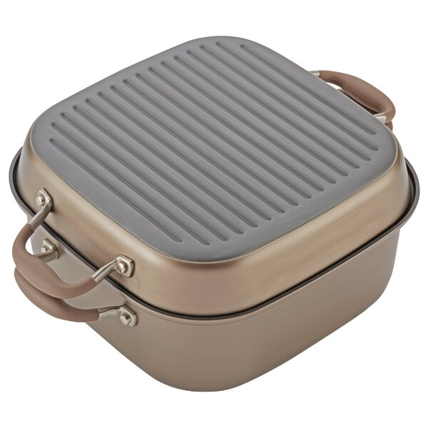 11 Advanced 2-in-1 Non-Stick Grill Pan by Anolon