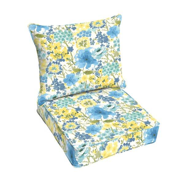 Kerrick Indoor/Outdoor Dining Chair Cushion