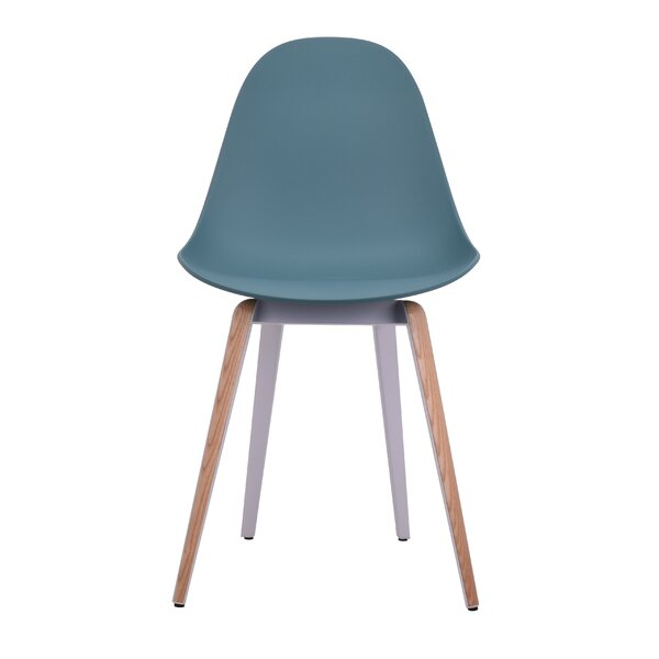 Schreffler Slice Natural Trims Solid Wood Dining Chair by Wrought Studio Wrought Studio