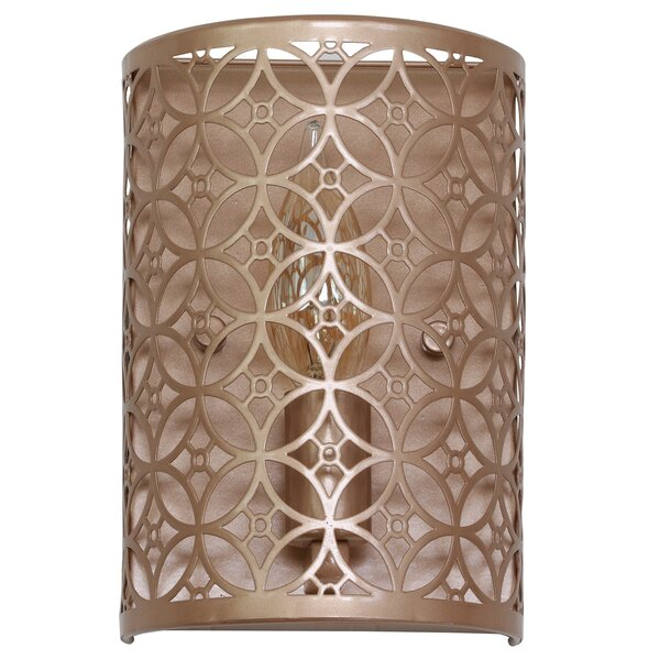 Ames Laser Cut 1-Light Flush Mount by House of Ham