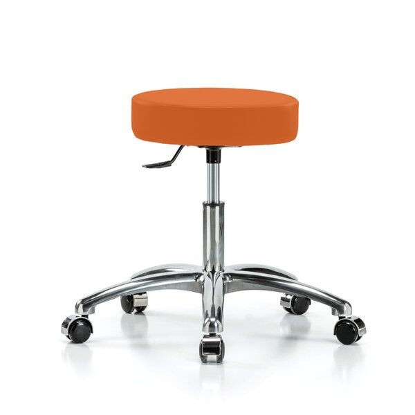 Height Adjustable Swivel Stool by Perch Chairs & Stools