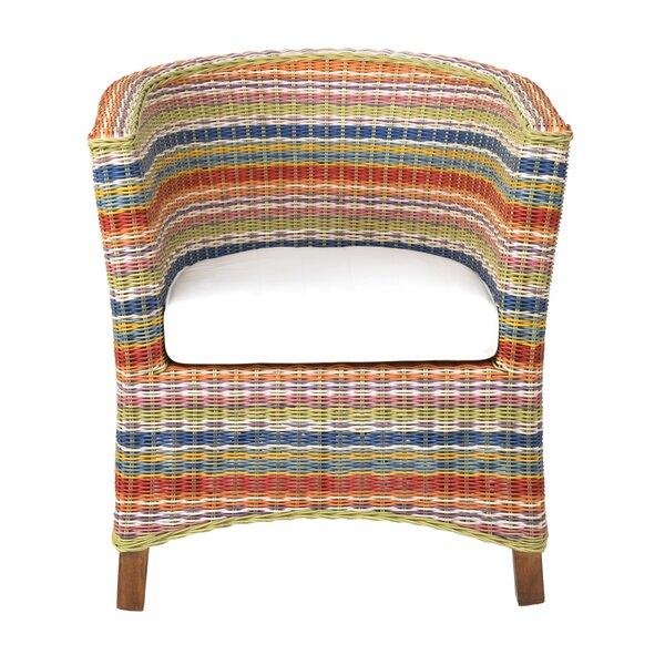 Saragosa Tub Barrel Chair by Bay Isle Home