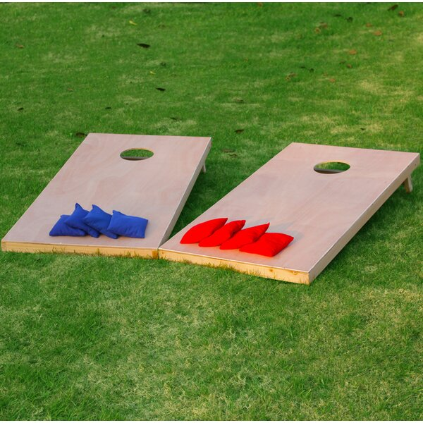 Toss Game 11 Piece Cornhole Set by Festival Depot