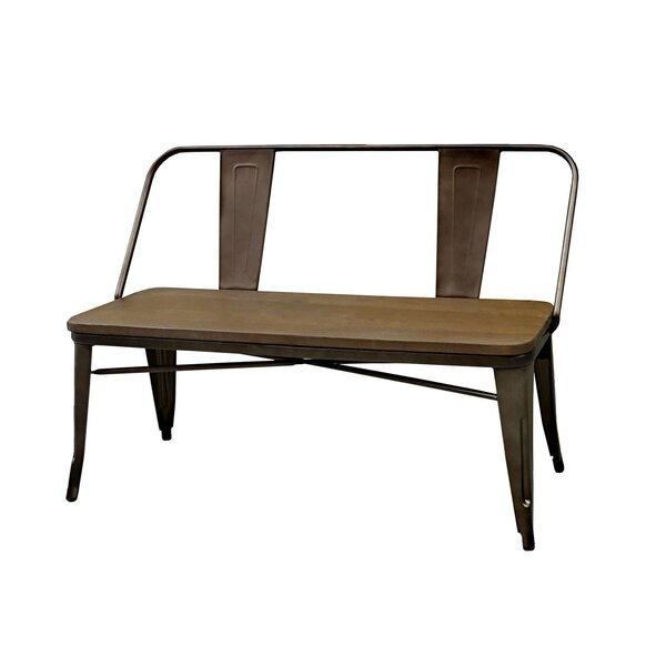 Faust Metal Bench by Williston Forge