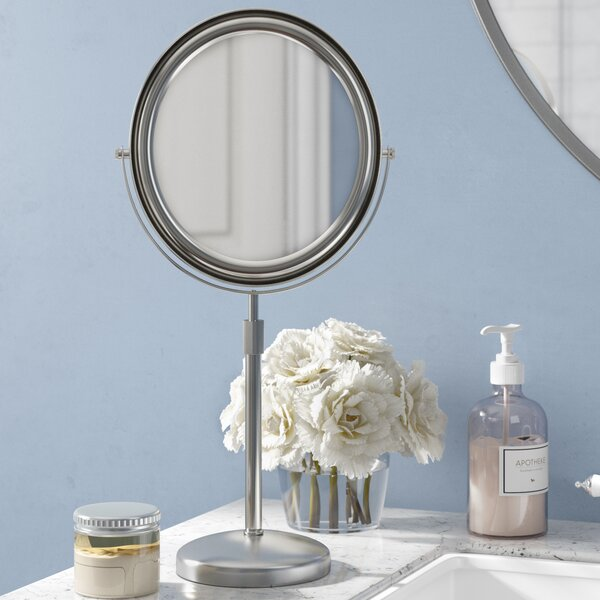 Round Vanity Mirror by Andover Mills