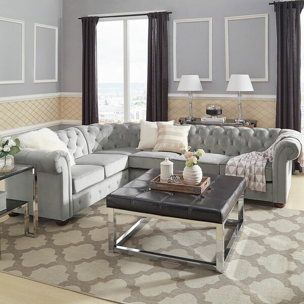 Les Right Hand Facing Sectional by Willa Arlo Interiors