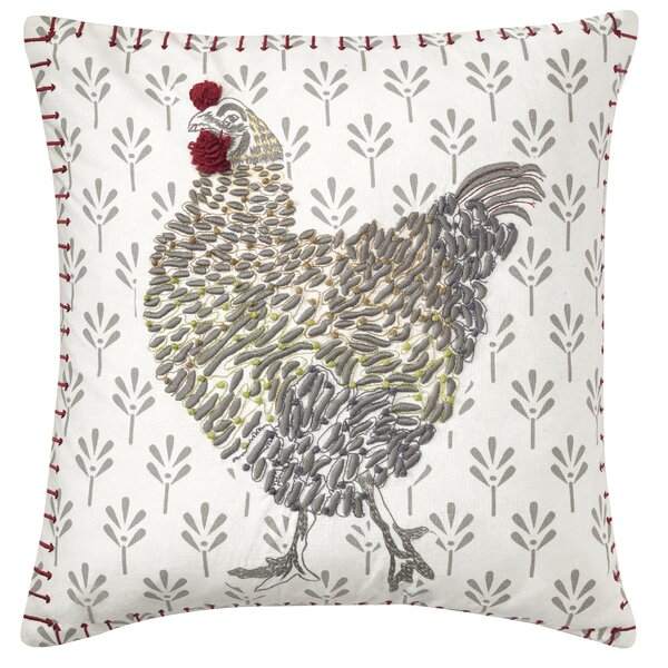 Coq-A-Doodle Throw Pillow by CompanyC