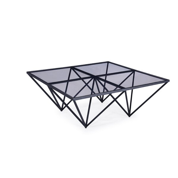 Timmie Metal Coffee Table By Brayden Studio