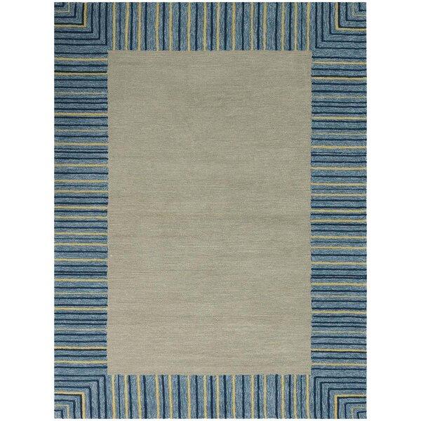 Oakham Blue Indoor/Outdoor Area Rug by Harriet Bee