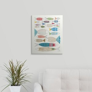 Wind and Waves VI by Courtney Prahl Graphic Art on Wrapped Canvas by Great Big Canvas