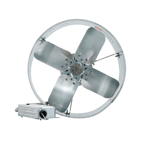 Gable Mount Attic Fan with Adjustable Thermostat by iLIVING