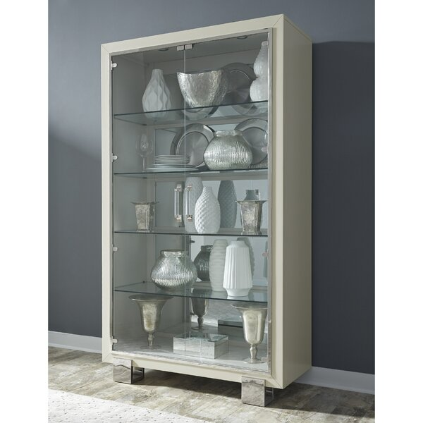 Redick Curio Cabinet by Rosdorf Park