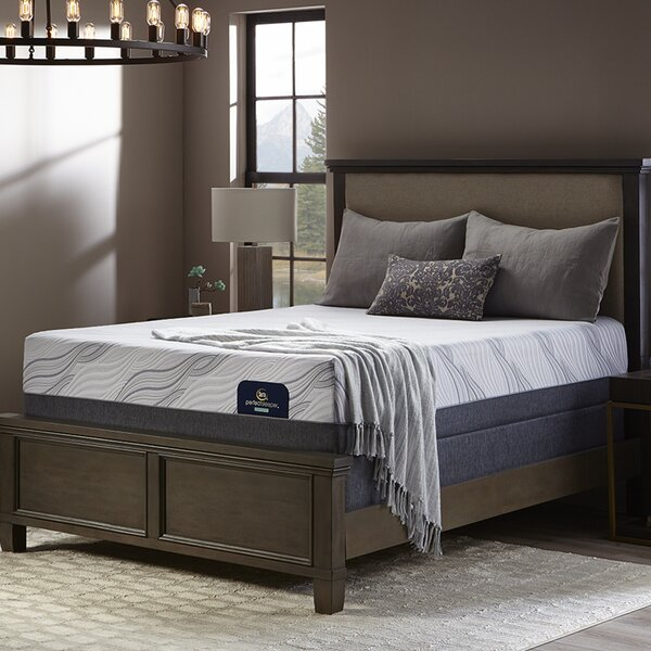 Perfect Sleeper 13 Firm Hybrid Mattress and Adjustable Base by Serta