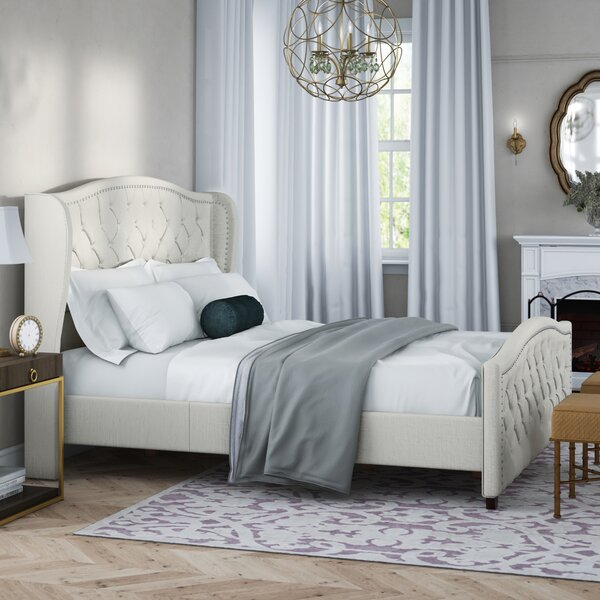 Marlon Upholstered Standard Bed by Willa Arlo Interiors Willa Arlo Interiors