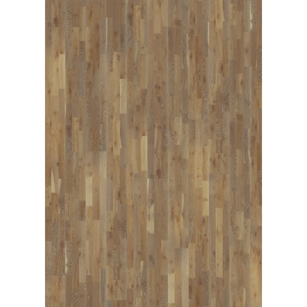 Harmony and Tropical 7-7/8 Engineered Oak Hardwood Flooring in Stone by Kahrs