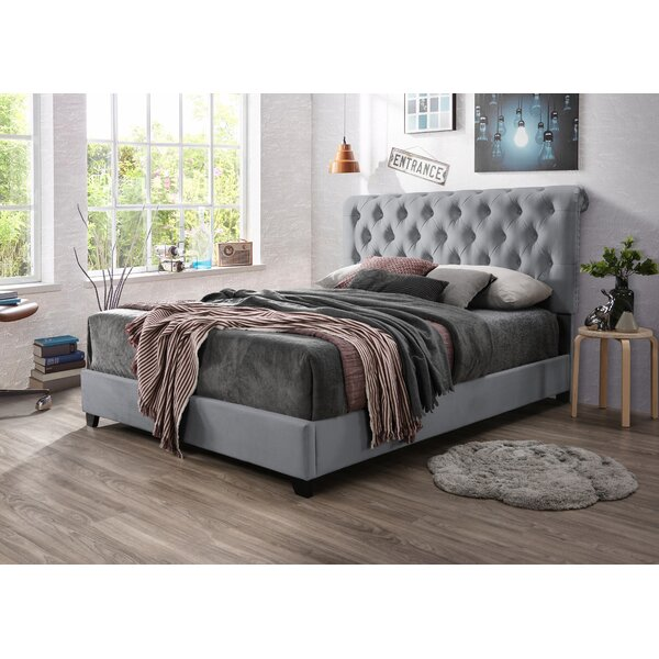 Cottman Upholstered Standard Bed by House of Hampton