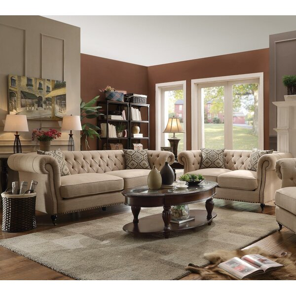 #1 Oribe 2 Piece Living Room Set By Darby Home Co Modern