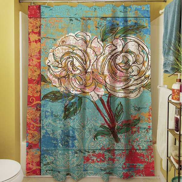 Valencia I Shower Curtain by Manual Woodworkers & Weavers