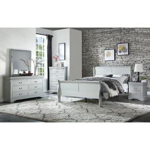 Dove Sleigh Configurable Bedroom Set