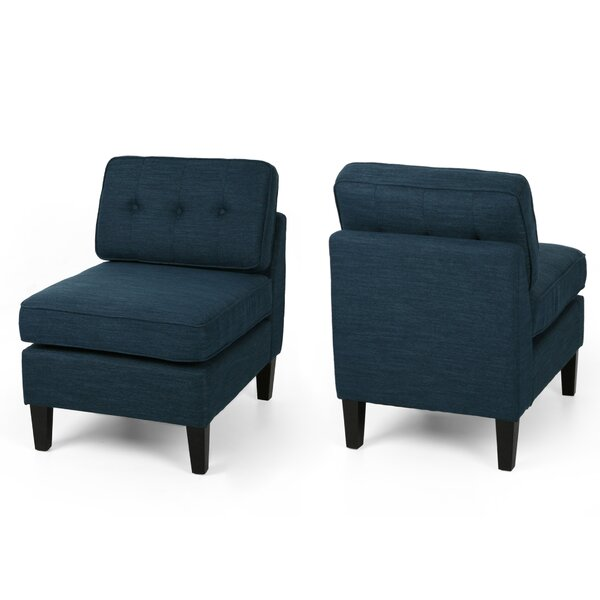Goodspeed Slipper Chair (Set of 2) by Latitude Run