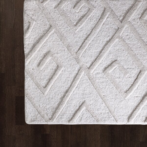 Maze Hand Tufted Ivory Area Rug by Global Views