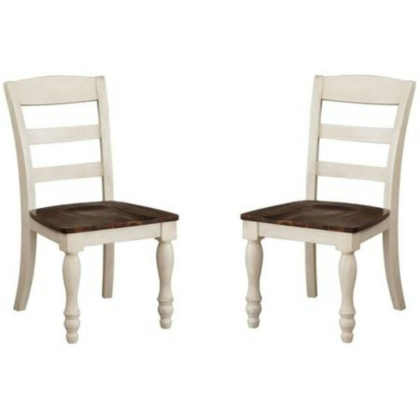 Cormac Solid Wood Dining Chair (Set of 2) by Alcott Hill