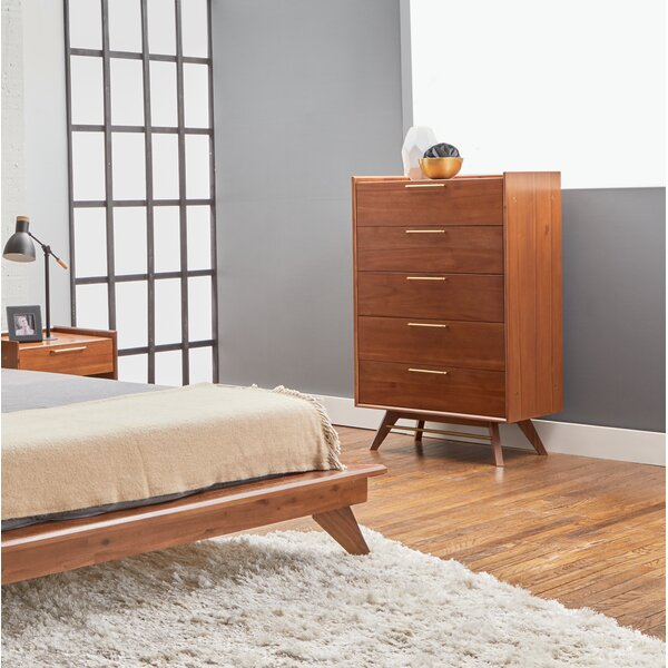 Moffitt 5 Drawer Chest by Brayden Studio