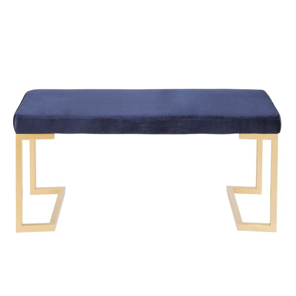 Pat Upholstered Bench by Willa Arlo Interiors Willa Arlo Interiors