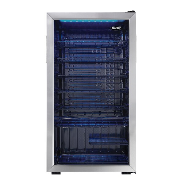 36 Bottle Single Zone Freestanding Wine Refrigerator By Danby