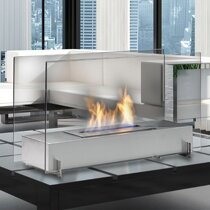 Vision 1 Bio-Ethanol Tabletop Fireplace by Eco-Feu