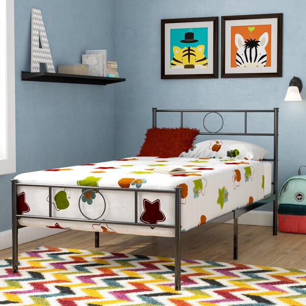 Arenberg Twin Platform Bed by Harriet Bee