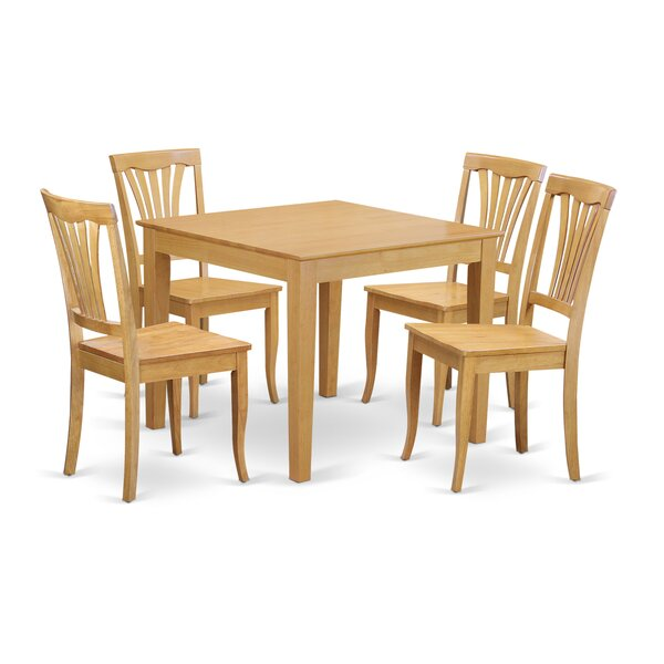 Oxford 5 Piece Dining Set By Wooden Importers Modern