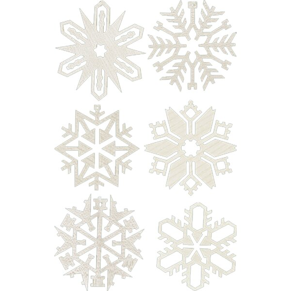 Richard Glaesser Assorted Snowflakes Ornament by Alexander Taron