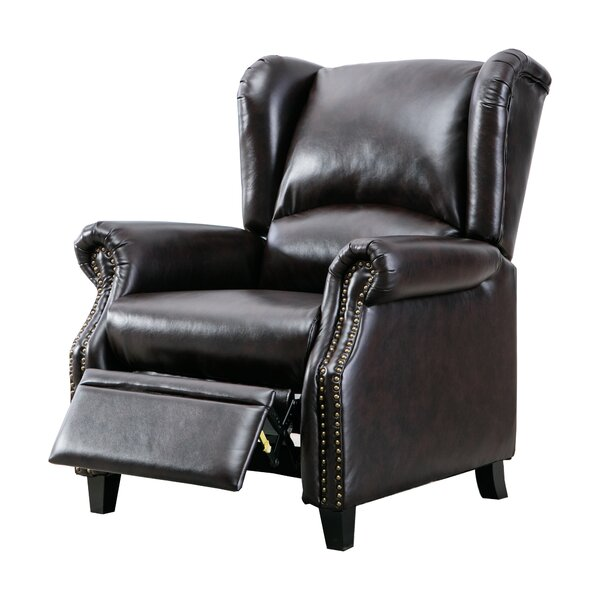 Kumra Faux Leather Manual Recliner W003393321