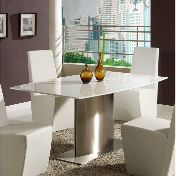 Milo Dining Table by Orren Ellis