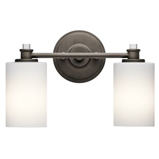 Compare Clara 2-Light Vanity Light By Darby Home Co