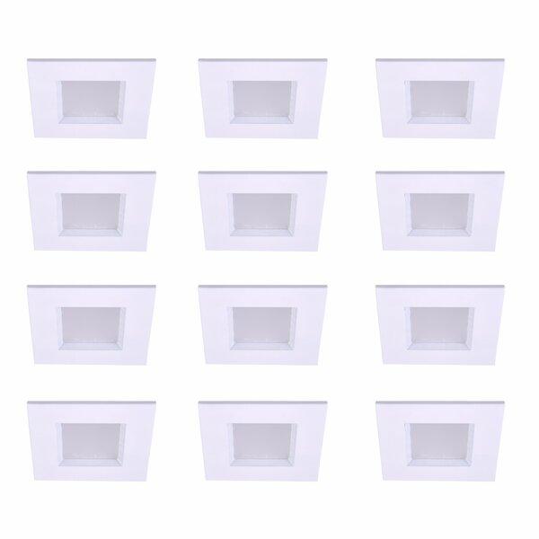 4 Square Recessed Trim (Set of 12) by Elegant Lighting