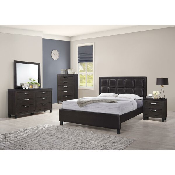 Comobabi Standard 5 Piece Bedroom Set by Ebern Designs