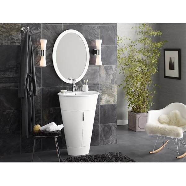 Leonie 23 Single Bathroom Vanity with Mirror by Ronbow