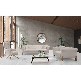 Living Room Set by Everly Quinn