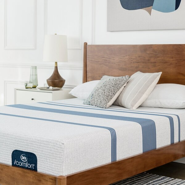 iComfort 100 10 Firm Gel Memory Foam Mattress by Serta